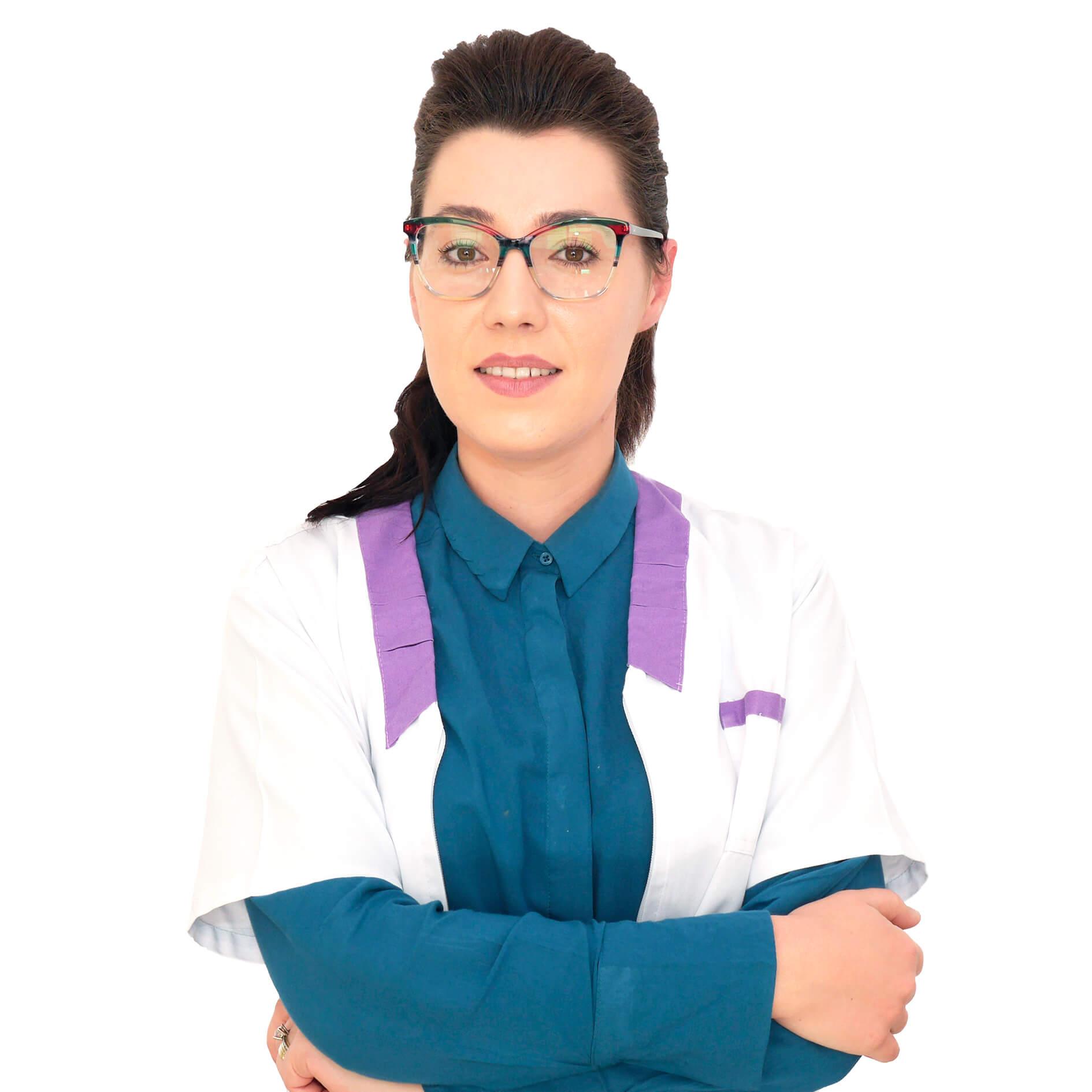 Sinziana Mucenicu - optometrist - Cristal Vision